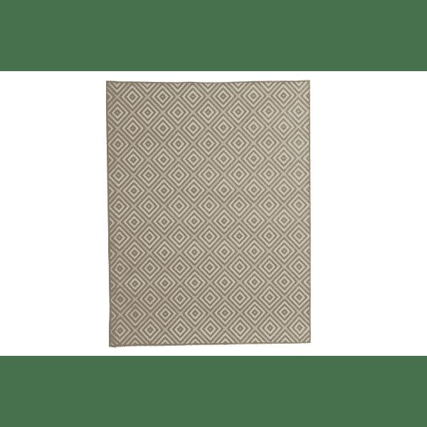Naujiena - kilimas terasai. Lauko terasos kilimas Evora aukštos kokybės popipropileno terasos aksesuaraas primenantis tekstilę.