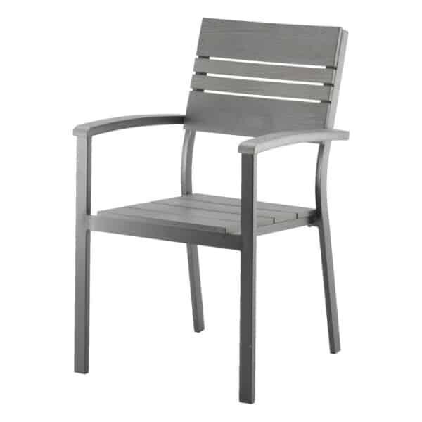 Lauko kėdė Laituri pilka
