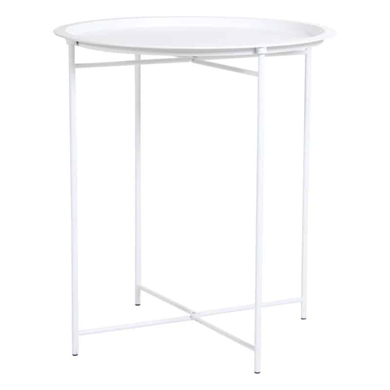 Pagalbinis staliukas Sangro baltas
