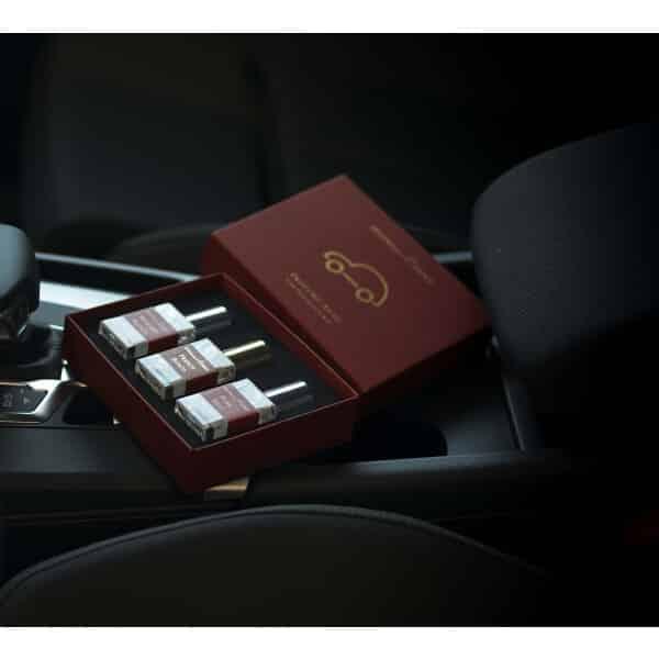 Automobilių kvapų rinkinys moteriai
