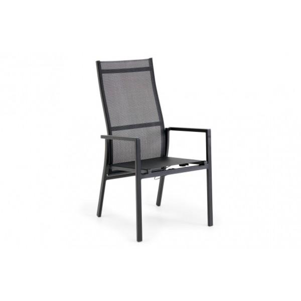Lauko atlenkiama kėdė Avanti pilka